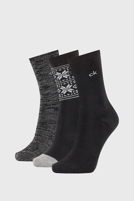 3 PACK dámských ponožek Calvin Klein Isla