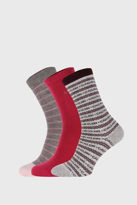 3 PACK dámských ponožek Calvin Klein Katerina