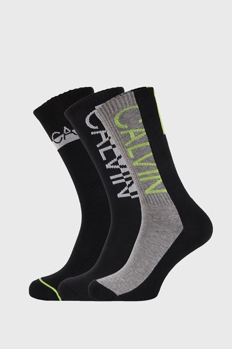 3 PACK vysokých ponožek Calvin Klein Jesse