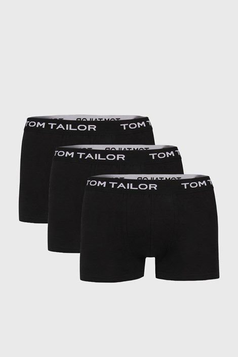 Tom Tailor 3 PACK boxerek Tom Tailor V černá XL