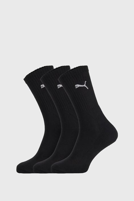 3 PACK černých ponožek Puma Sport
