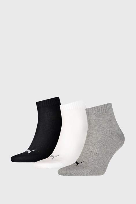 3 PACK ponožek Puma Quarter Plain