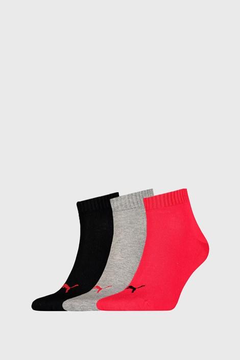 3 PACK ponožek Puma Quarter Plain II