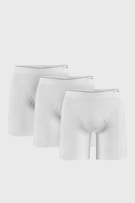 3 PACK bílých boxerek Tender