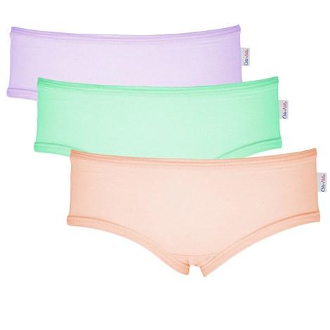 3 pack σλιπ για κορίτσια Colour