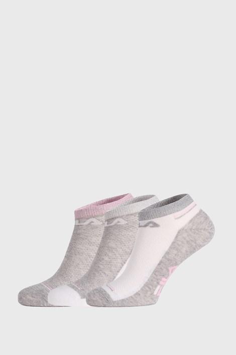 3 PACK ponožek FILA Invisible White