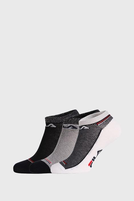 3 PACK ponožek FILA Invisible Navy