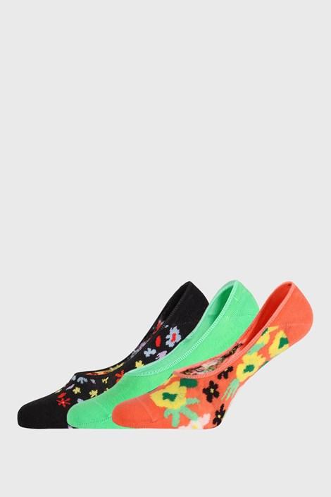 3 PACK ponožek Happy Socks Flower