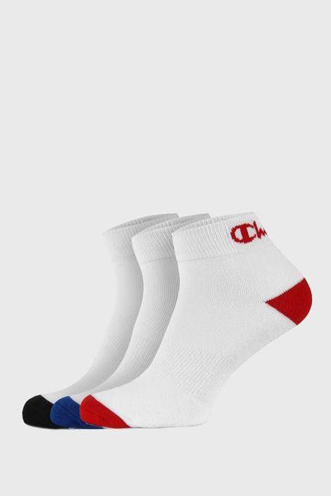 Champion 3 pack ponožek Champion Ankle nízké bílé bílá 43-46