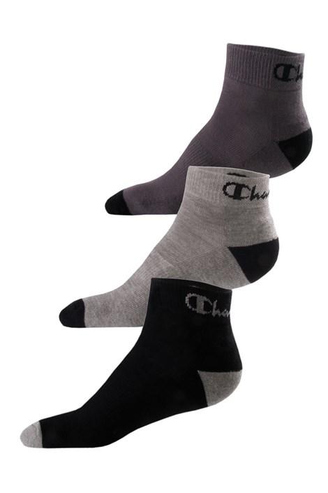 Champion 3 pack ponožek Champion Ankle nízké barevná 43-46