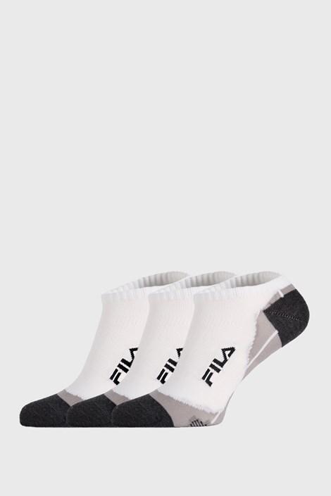 FILA 3 PACK ponožek FILA Invisible bílé bílá 43-46