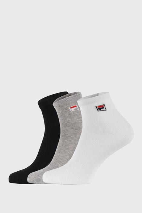 FILA 3 PACK tří barev kotníkových ponožek FILA vícebarevná 43-46