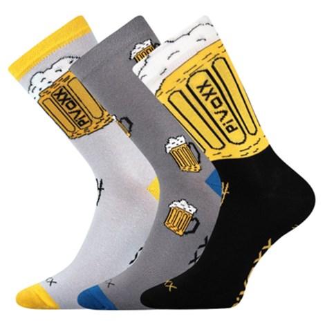 3 PACK pánských ponožek PiVoXX II.