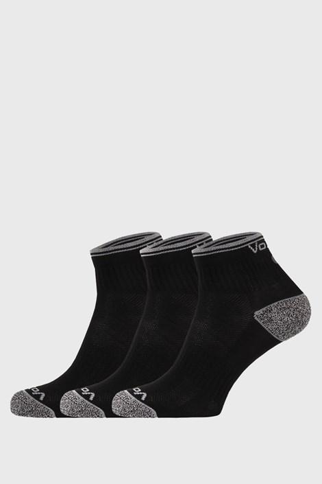 VoXX 3 PACK sportovních ponožek Ray černý černá 39-42