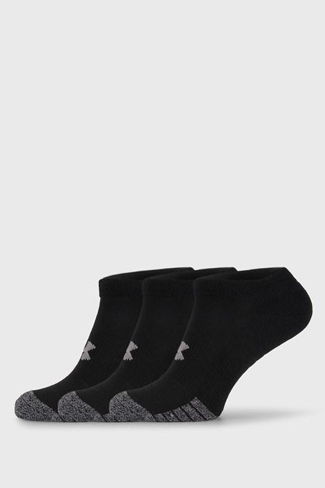3 PACK μαύρες κάλτσες Under Armour