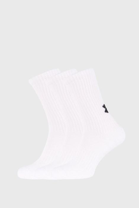 3 PACK vysokých bílých ponožek Core Under Armour