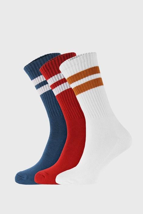 3 PACK barevných ponožek Active