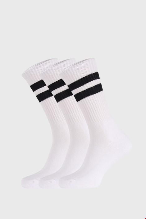 3 PACK bílých ponožek Active