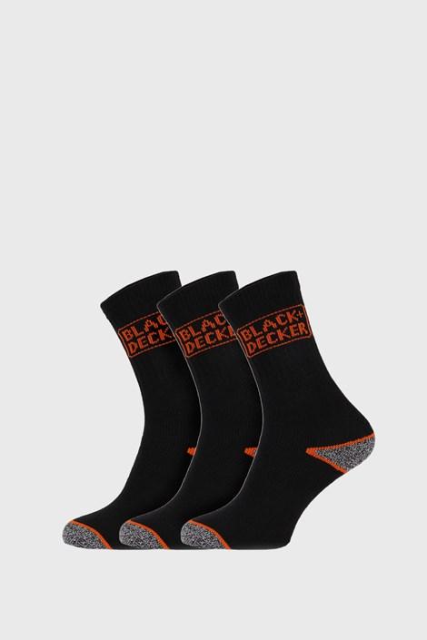 3 PACK pracovních ponožek Black and Decker
