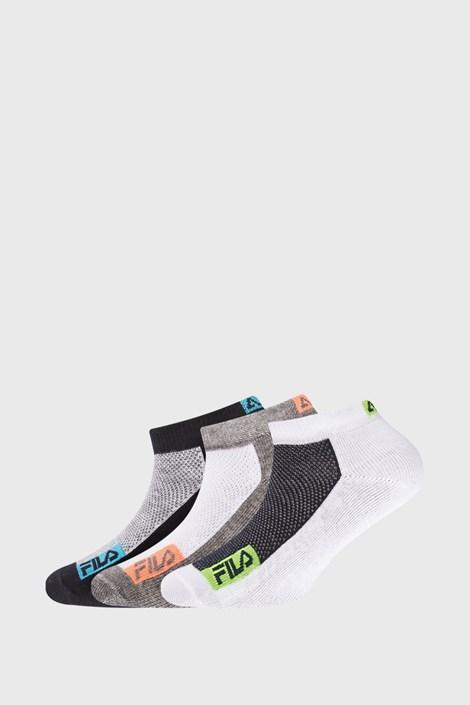 3 PACK dětských sportovních ponožek FILA Invisible
