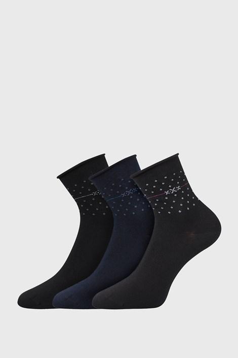 3 PACK дамски чорапи Flowi