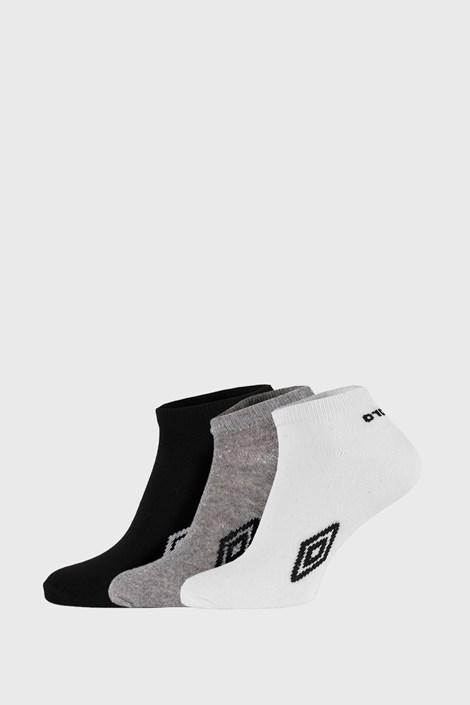 3 PACK členkových ponožiek Umbro