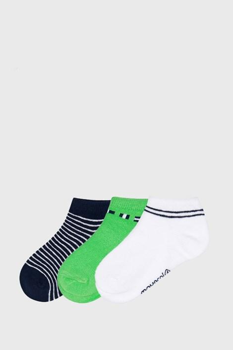 3 PACK nízkých ponožek Matcha