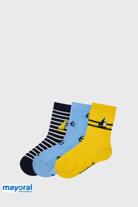 3 PACK ponožek Mayoral Sailing