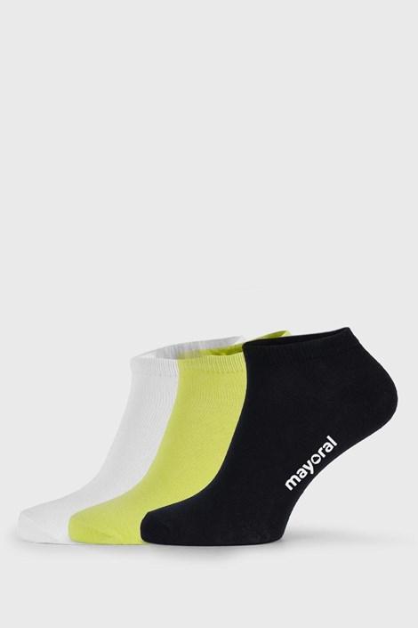 3 PACK dětských nízkých ponožek Mayoral John