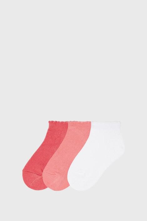3 PACK nízkých dívčích ponožek Mayoral Coral