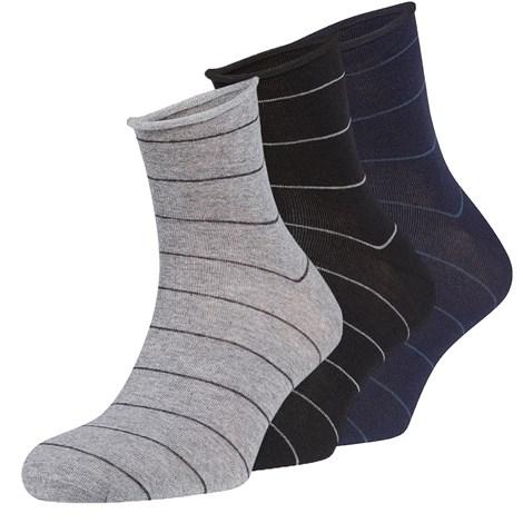 Ysabel Mora 3 pack ponožek Yves barevná uni