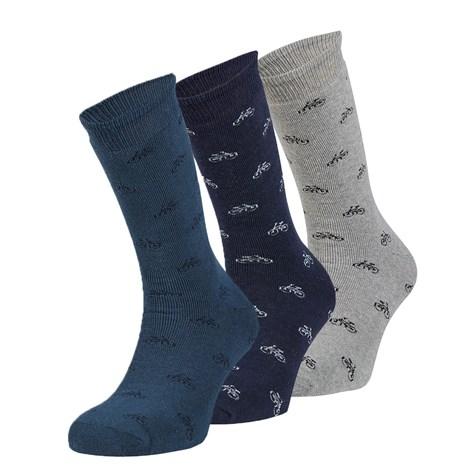 Ysabel Mora 3 pack hřejivých ponožek Joel barevná uni