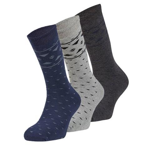 Ysabel Mora 3 pack hřejivých ponožek Tomas barevná uni