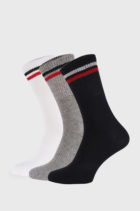 3 PACK vysokých ponožek Sports