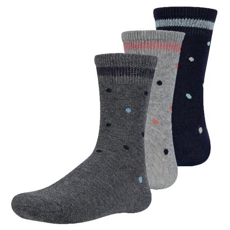Ysabel Mora 3 pack dětských ponožek Tinryn barevná 38-40