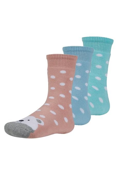 3 PACK dětských hřejivých ponožek Dorote