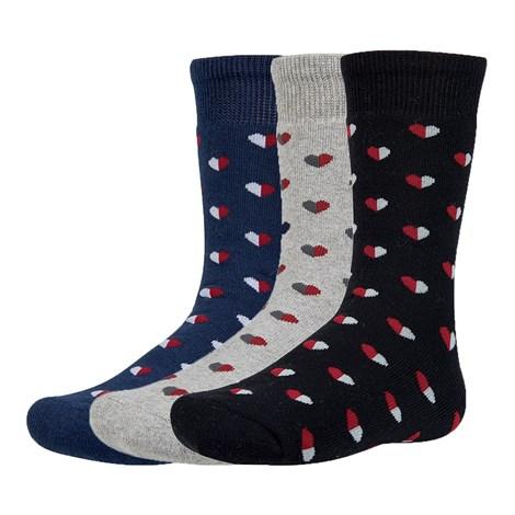 Ysabel Mora 3 pack dětských hřejivých ponožek Yrako barevná 26-28