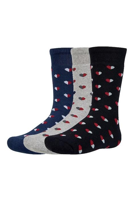 3 PACK dětských hřejivých ponožek Yrako