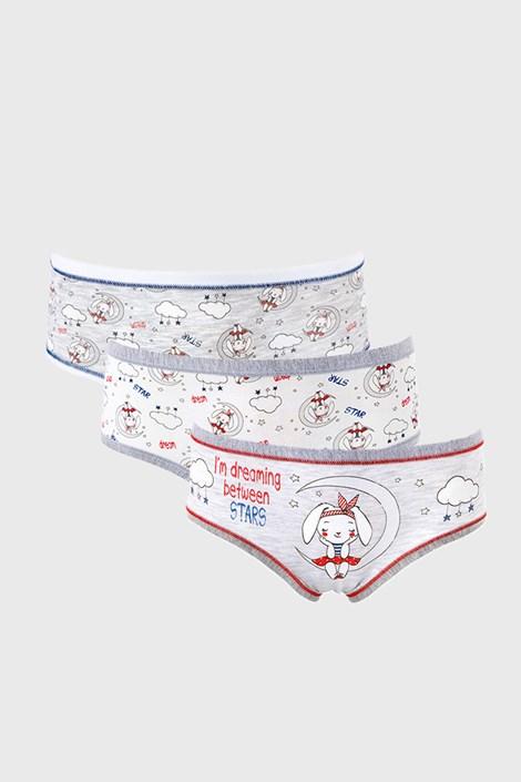 3 PACK dívčích kalhotek Dream