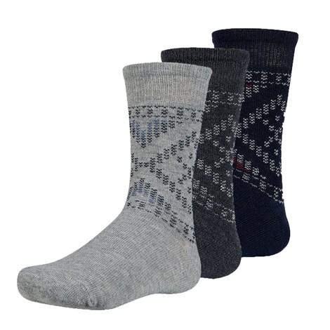 Ysabel Mora 3 pack dětských ponožek Maend barevná 35-37