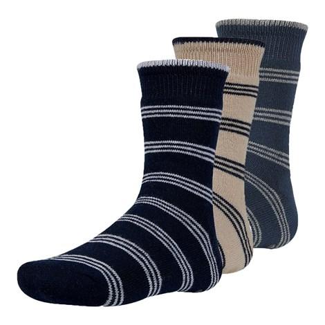 Ysabel Mora 3 pack dětských hřejivých ponožek Rakr barevná 26-28