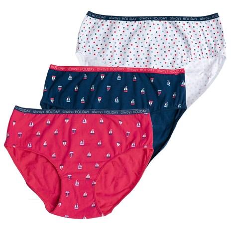 3 PACK dívčích kalhotek Coloring