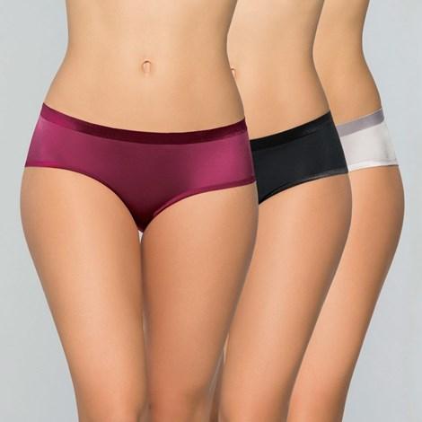 Dorina 3 pack kalhotek klasických Jane barevná XXL