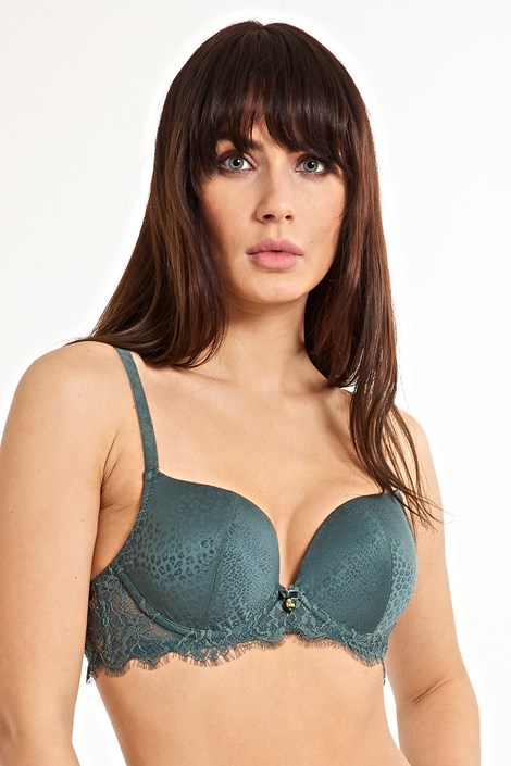 LingaDore Podprsenka Secret Delight Push Up zelená 85/C