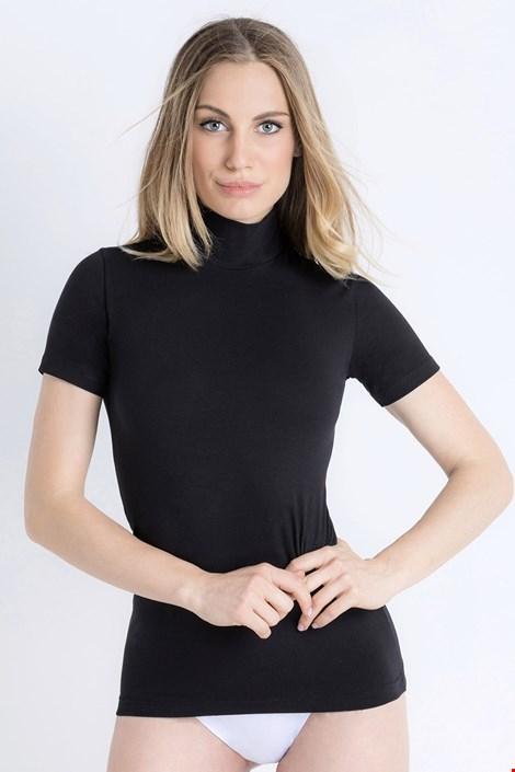 Jadea Dámské bavlněné tričko Erica černá L/XL