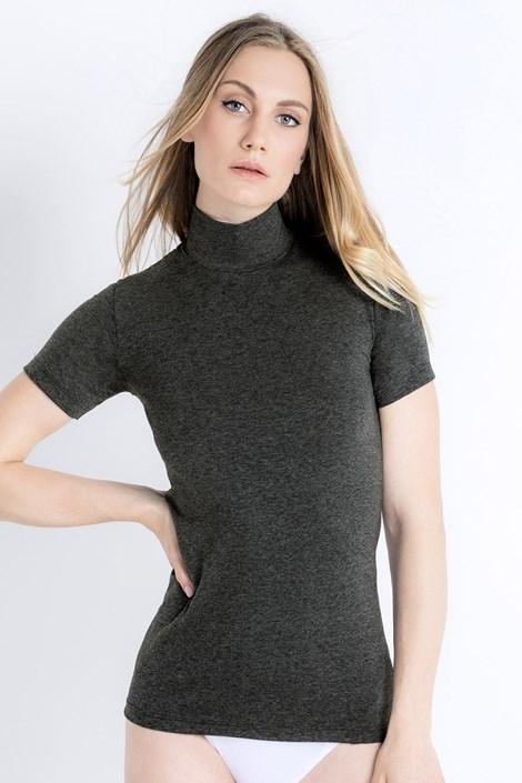 Jadea Dámské bavlněné tričko Erica melange S/M
