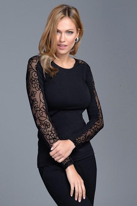 Γυναικεία μπλούζα με δαντέλα Nellie