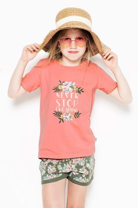 Charlie Choe Dívčí pyžamo Flowers vícebarevná 134