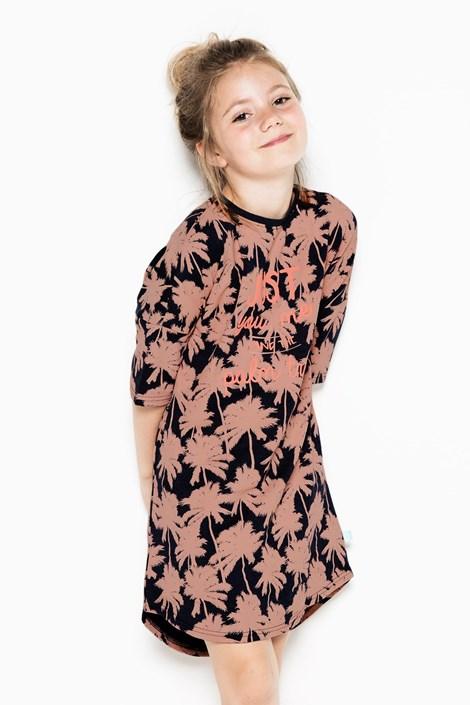 Charlie Choe Dívčí noční košile Palm Trees vícebarevná 122