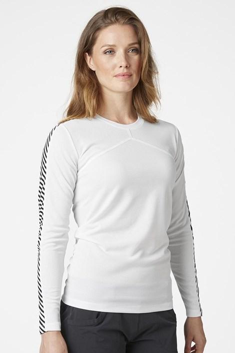 Dámské bílé tričko s dlouhým rukávem Helly Hansen